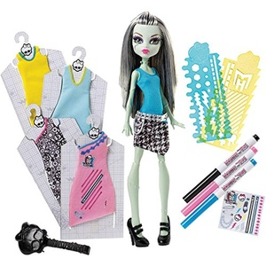 Monster High Designer Booo-Tique Frankie Stein Doll and Fashions