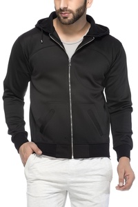 Tinted Men's Polyester Hooded Sweatshirt
