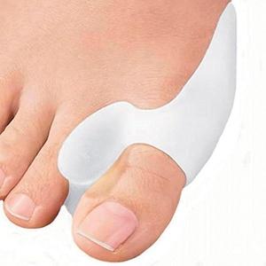 1 Pair Bunion Protector Gel Cushion Pad Pain Relief Hallux Valgus Toe Separator Silicone by ewinever