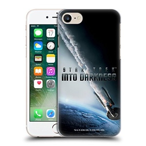 Official Star Trek USS Enterprise NCC-1701 Falling Posters Into Darkness XII Hard Back Case for Apple iPhone 7