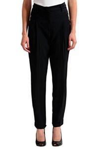 Versace Jeans Black Women's Casual Pants US 8 IT 44;