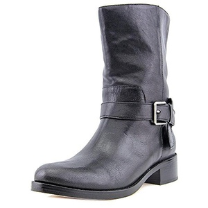 Cole Haan Briarcliff Mid Boot Women US 9.5 Black Mid Calf Boot