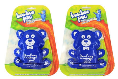 Cold Pack for Kids - Bear Shaped - Pack of 2