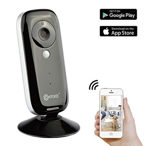 Contixo 720P HD WiFi Wireless Smart Security Camera Two-Way Audio and Night Vision