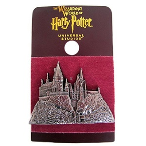 Wizarding World of Harry Potter : Hogwarts School Castle Relief Metal Trading Pin by Wizarding World of Harry Potter