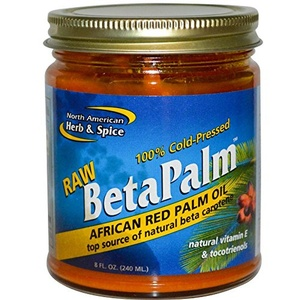 North American Herb & Spice Co., Raw BetaPalm, African Red Palm Oil, 8 fl oz (240 ml) North American Herb & Spice Co., Raw BetaPalm, African Red Palm Oil, 8 fl oz (240 ml) - 2pcs