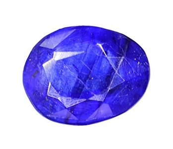Gemstone Ultimate Natural Looking Oval 1.90 Carat Blue Sapphire Gemstone