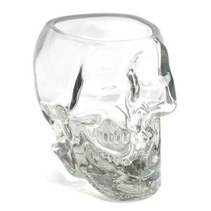Crystal Skull Head Vodka Whiskey Shot Glass Cup Drinking Ware Home Bar