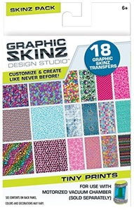 Graphic Skinz Design Studio Refill Pack - Tiny Prints by Rose Art