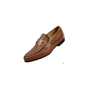 Tidecloth Men's Casual Slip on Casual Loafers Brown US M 10.5