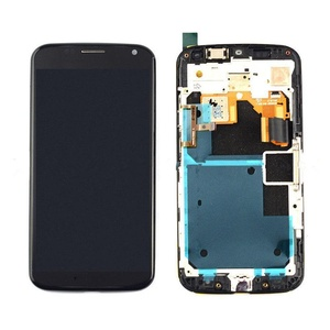 NEW Black Motorola Moto X XT1060 XT1058 XT1056 XT1053 LCD Display +Touch & Frame