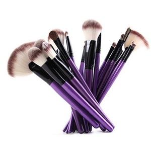 24 Pieces Makeup Brush Set Professional Face Eye Shadow Eyeliner Foundation Blush Lip Makeup Brushes Powder Liquid Cream Cosmetics Blending Brush Tool