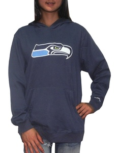 Pink Victoria's Secret NFL Womens Seattle Seahawks Pullover Hoodie M Dark Blue