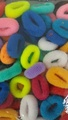 BUY 60 pc X Hair Styling Hair Rubber bands,MULTICOLORED Hair Accessories & GET 20 pc FREE