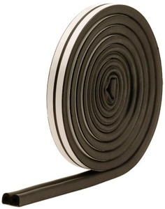 M-D Building Products 1025 All-Climate Auto and Marine 17-Feet Weather Seal Strip, Black by M-D Building Products