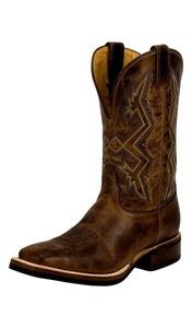 Nocona Western Boots Mens Low Profile Square Toe 11 D Testa MD5220