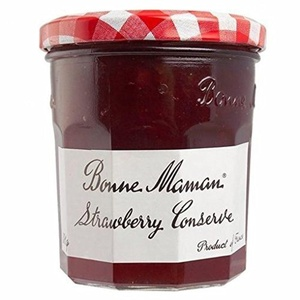 Bonne Maman Strawberry Conserve 370g (Pack of 4)