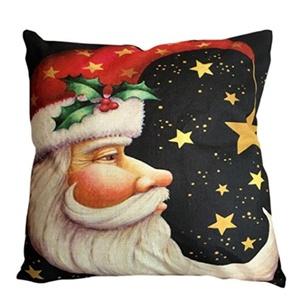 Iuhan Fashion Christmas Pillow Case Sofa Waist Throw Cushion Cover Home Decor (N)