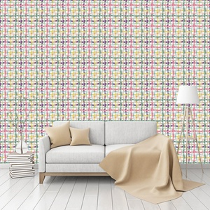 Woven Dance Patterned Commercial Textured Wallpaper by CustomWallpaper.com