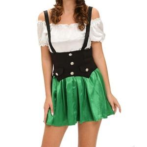 MAX Sonne Shamrock Sweetie 2pcs Beer Girl Costume