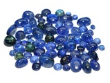 Blue Sapphire natural & cabochon cut gemstones lot 26.11 carat