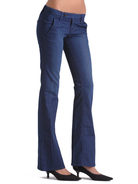 Raven Deim Mackenzie Trouser with a wide boot leg (W105) (32, DSS-ICN)