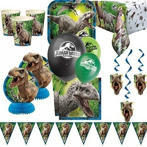 Jurassic World Party Ultimate Party Kit for 8 by Party Bags 2 Go