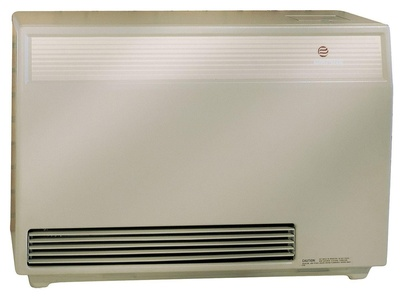 Empire Ventilation Equipment - DV40ENAT - 37 x 15-3/4 x 26 Hot Surface Fan Forced Counterflow High Efficiency Gas Wall Furnace
