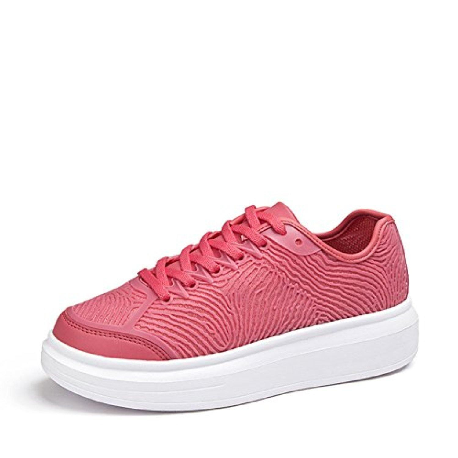Autumn Glow heavy-bottomed shoes/ Sweet casual sports shoes-A Foot length=23.3CM(9.2Inch)