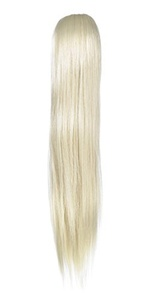 Love Hair Extensions Silky Sue Crocodile Clip Synthetic Hair Ponytail Colour 60 Pure Blonde 20 -inch by Love Hair Extensions