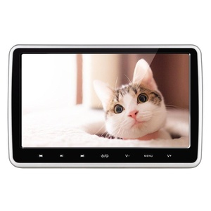 Headrest DVD Player YUNSHANGAUTO Upgraded 10.1 Inch HD 1080P Digital TFT LCD Screen Car Headrest DVD Player with HDMI Port and Remote Control