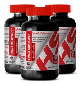 Saw palmetto extract for man - FEMALE ENHANCEMENT NATURAL FORMULA 1560 MG - increase sexual response (3 Bottles)