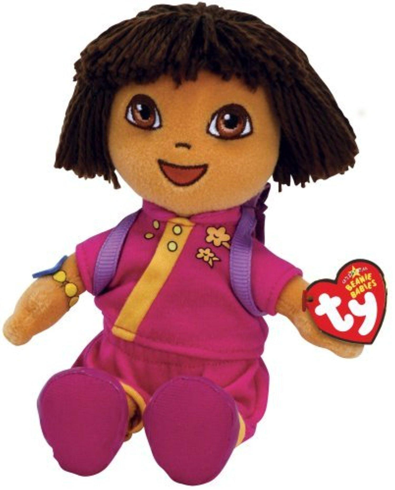 Online Store  Ty Dora The Explorer China Beanie Baby By Ty Beanie 741d4fe3dd5