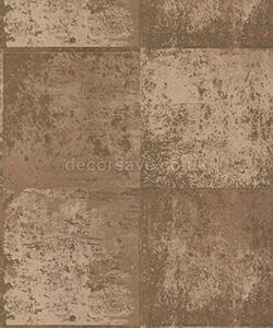 Holden Decor Statement Metal Panel Beige Gold Wallpaper 65163 - Metallic Effect by Holden Decor