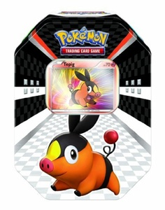 Pokmon USA TCG: 2011 Spring Collectors Tin - Tepig by Pokemon Center