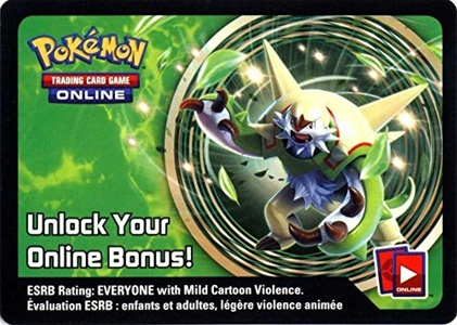 Pokemon Chesnaught Tin Promo Code Card for Pokemon TCG Online by Pokemon Chesnaught Tin