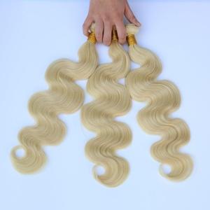 CCOLLEGE Hair 613 Blonde Body Wave Brazilian Virgin Hair Bundle 100% Remy Hair Extension Body Wave 3pcs/lot (12 14 16)