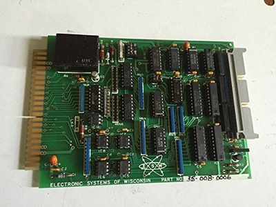 USED WISCONSIN 35-008-0006 ELECTRONIC SYSTEMSCONTROL INTERFACE BOARD,BOXYD