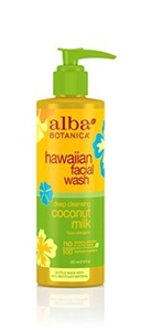 Alba Botanica Coconut Milk Facial Wash (1x8 Oz) by Alba Botanica
