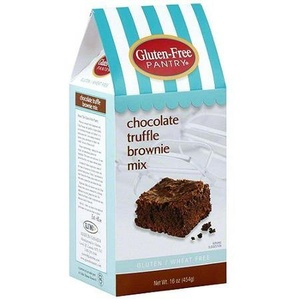 Gluten-Free Pantry Chocolate Truffle Brownie Mix, 16 oz (Pack of 6) by The Gluten-Free Pantry