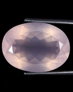 21.30Cts.NATURAL ROSE QUARTZ CUT PINK SHAPE OVAL LOOSE GEMSTONES AFRICA 3722