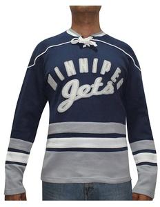 Mens NHL Winnipeg Jets Vintage Look Hockey Jersey