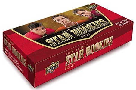 Upper Deck NHL Star Rookies 2015 2016 Limited Edition Factory Sealed 25 Card Set Featuring Connor McDavid, Max Domi, Jach Eichel and Others by Hockey Card Set