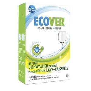 5 X Ecover Natural Automatic Dishwashing Powder, Citrus 48 oz (1.36 kg)
