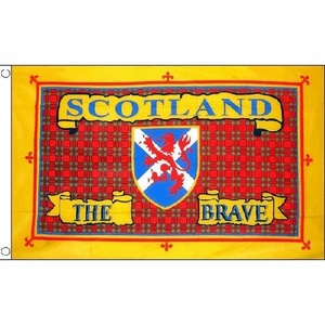 Scotland The Brave Flag 5Ft X 3Ft Scottish National Banner With 2 Eyelets New by Scotland the Brave