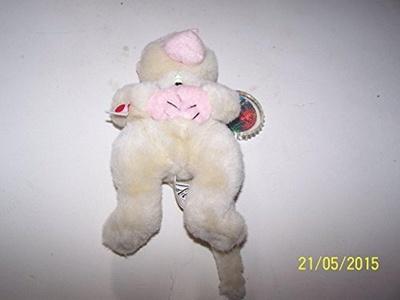 Coca-Cola Bean Bag Plush Key Key the Snow Monkey representing (Japan) by Coca-Cola