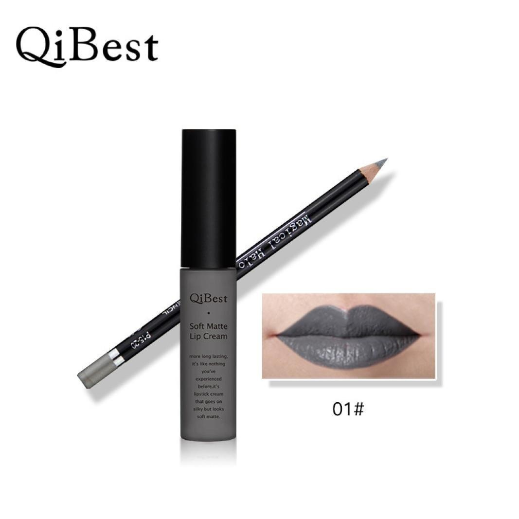Sagton® Lip Liner Pencil Waterproof Long Lasting Behind the Lipstick perfect combination Make up Tools (A)