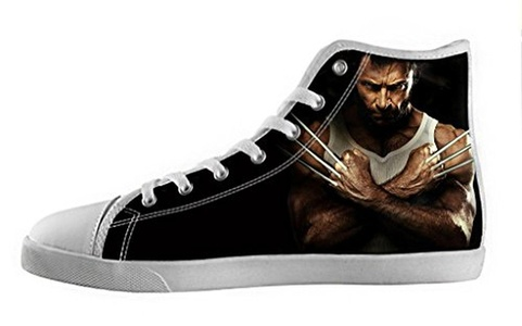 Movie Wolverine Women's High Top Canvas Shoes-7M(US)