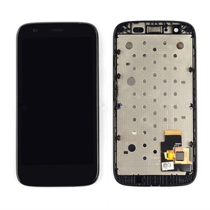 New Motorola MOTO G XT1032 Touch Digitizer+ Lcd Display Penal Assembly &Frame