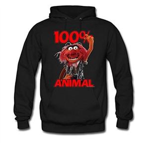 100 Animal For women Printed Sweatshirt Pullover Hoody